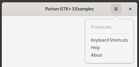 Gtk3 Button Example